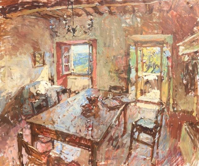 , 'Sunlit Interior,' 2018, Grenning Gallery