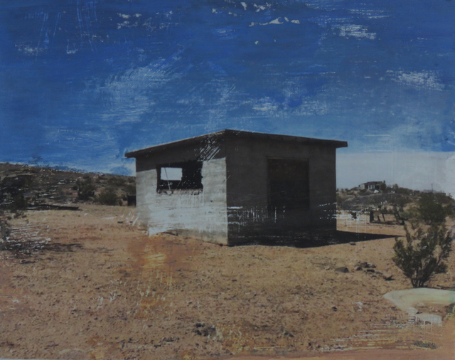 , 'Winters Cabin,' 2018, Joshua Tree Art Gallery
