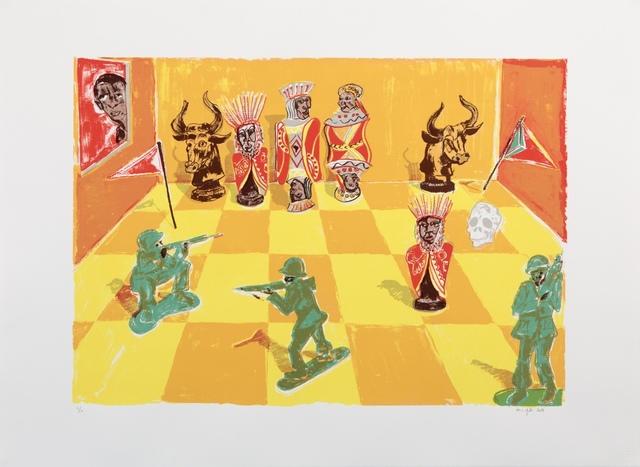 , 'Africa's Chess,' 2018, Barnard