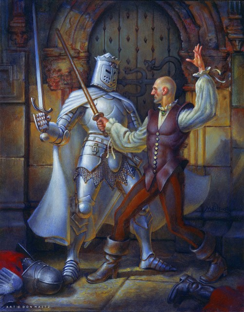 Don Maitz, 'Duel with the White Knight', 2005, IX Gallery
