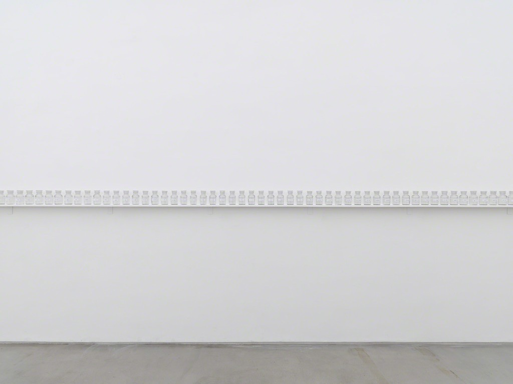 "Installation photo of artwork ""We Are All Water"" from ""Yoko Ono: Golden Ladders"" Faurschou Foundation, Beijing (2015). Photo by Jonathan Leijonhufvud © Faurschou Foundation"