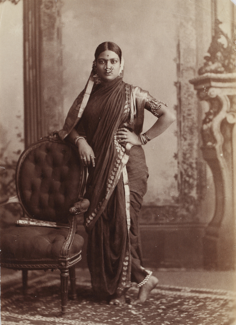 , 'Hindu Woman,' unknown, Sarmaya