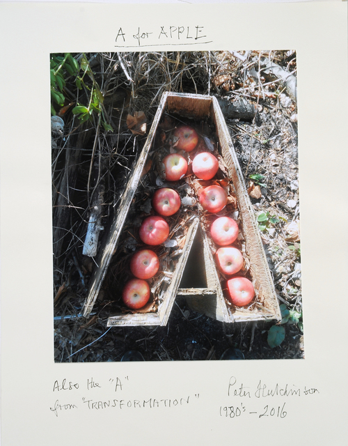 , 'A is for Apple,' 2016, Freight + Volume