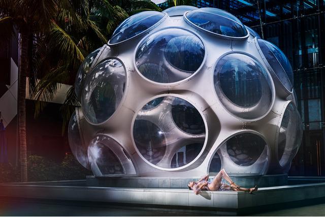 David Drebin, 'Outside the Bubble', 2019, Contessa Gallery