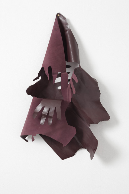 , 'Hands removed by hands (Burgundy #1),' 2009, Galleri Nicolai Wallner