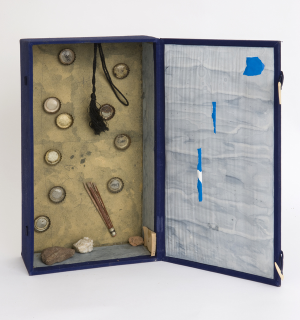 Salvatore Meo, 'Blue Box', 1976, Pavel Zoubok Fine Art