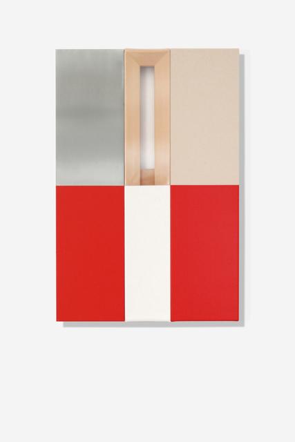 , 'Red & White (three panels),' 2017, SILAS VON MORISSE gallery
