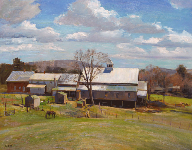 Joel Babb, 'The View from the Knoll, Morrill Farm, Sumner, Maine', 2011, Vose Galleries