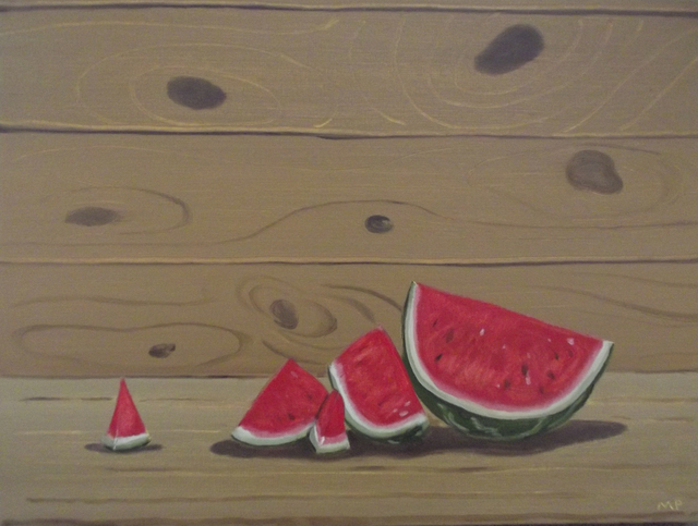, 'Watermelon,' 2016, Tayloe Piggott Gallery