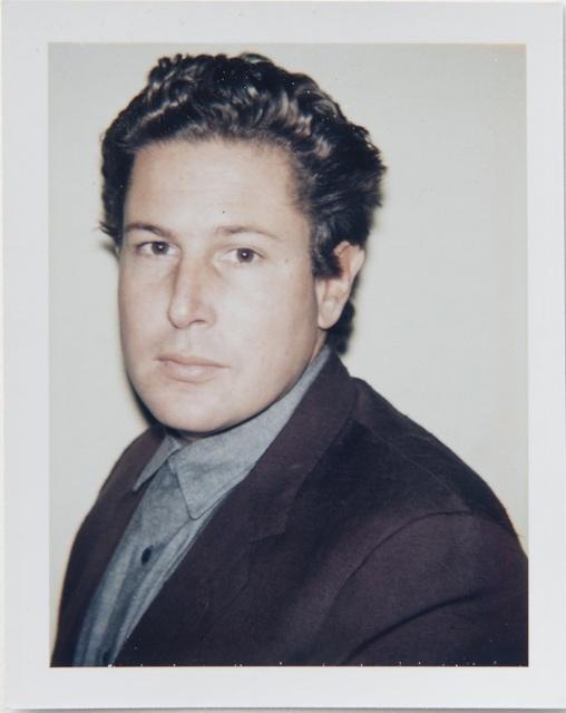 , 'Andy Warhol, Polaroid Portrait of Julian Schnabel,' 1983, Hedges Projects