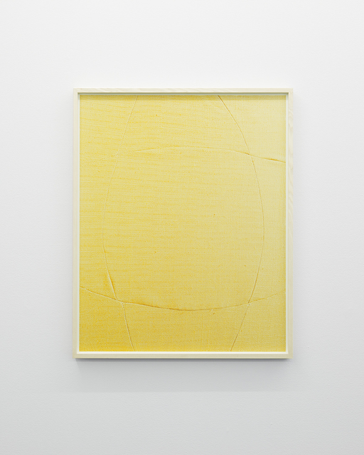 , 'Suggested Shape (Yellow),' 2019, Cecilia Hillström Gallery