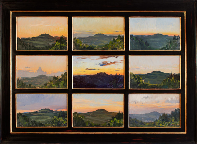 , 'Tuscan Sunsets,' 2016, Grenning Gallery