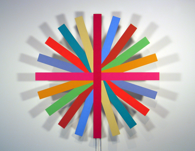 , 'Ten Splint Wheel,' 2006, Olga Korper Gallery