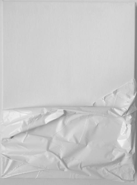 , 'PW6 (XV) AA. Prueba de Leucofobia: Blanco sobre blanco (Leukophobia test: White on white),' 2019, SET ESPAI D'ART