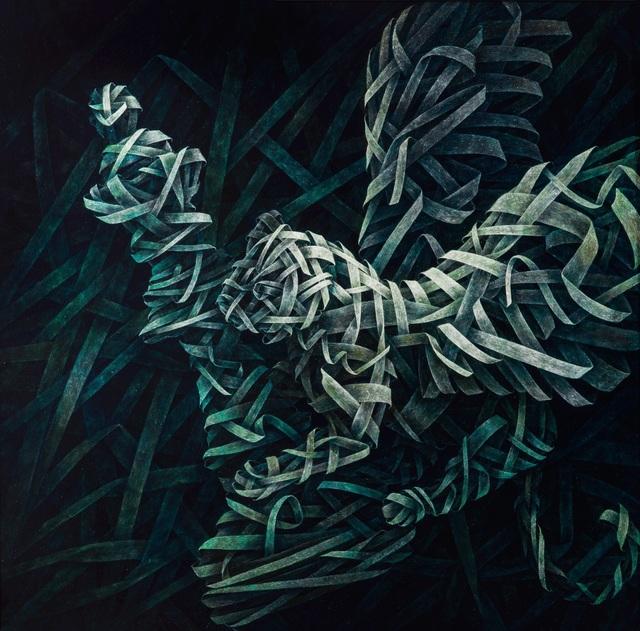 , 'Queen Mirror 3,' 2012, ARTSPACE 8