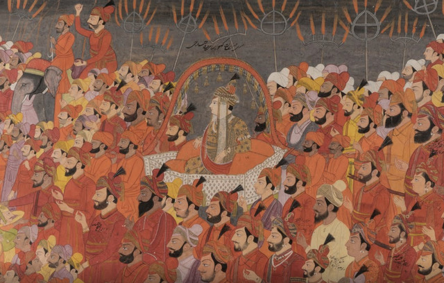 , 'The Wedding Procession of Prince Aniruddha Chand of Kangra,' About AD 1800, Jehangir Nicholson Art Foundation