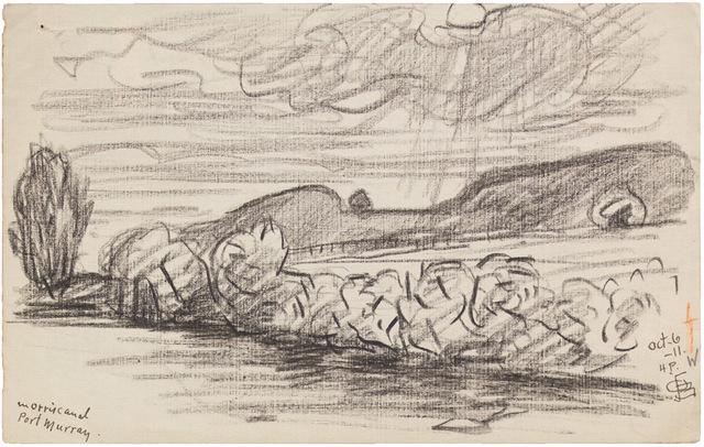 , 'MORRIS CANAL, PORT MURRAY OCT 6-11,' 1911, Jerald Melberg Gallery