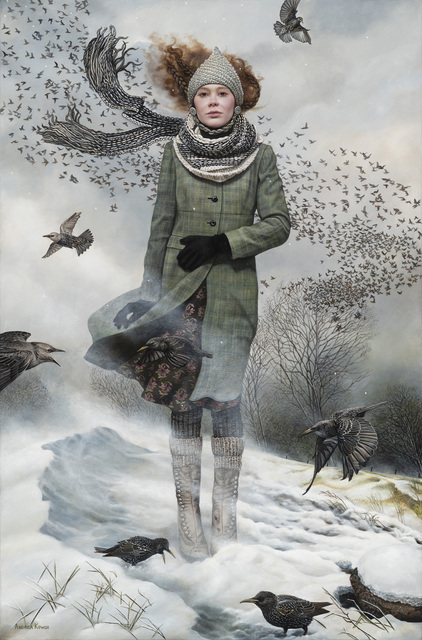 Andrea Kowch, 'Solitude, Limited Edition Hand Signed Print', 2019, RJD Gallery