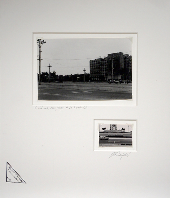 , 'Plaza de la revolución / La habana / Ministerio El Trabajo con Che Guevara,' 1985, Isabel Aninat