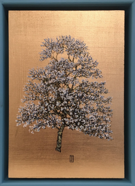 Jack Frame, 'Blooming Collection: Blue Blossom in blue frame ', 2018, Urbane Art Gallery
