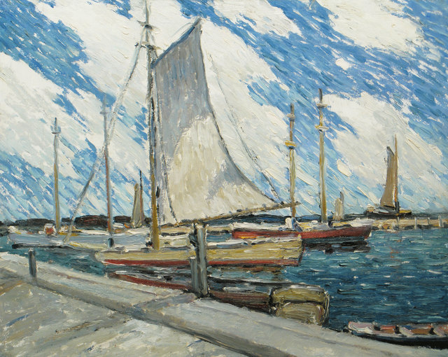 Walter Farndon, 'Backward Sail, Fire Island, New York', 19th -20th Century, Vose Galleries