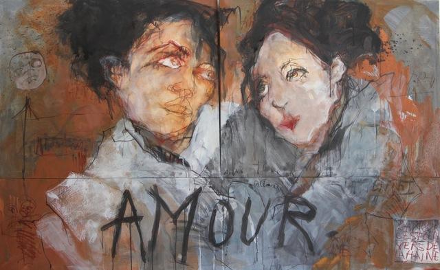 , 'AMOUR, ETC... (Love, etc...),' 2017, LouiSimone Guirandou Gallery