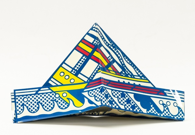 Roy Lichtenstein, 'Folded Hat (from S.M.S. no.4 portfolio)', 1968, Forum Auctions