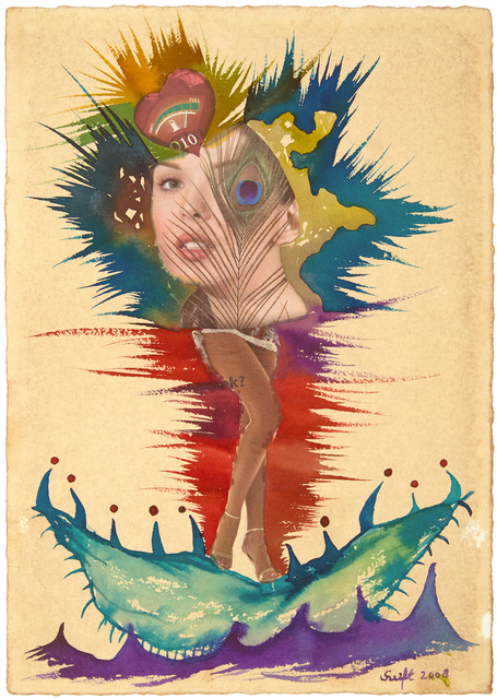 Bela Szeift, 'Birth of Venus collage', 2008, FRED.GIAMPIETRO Gallery