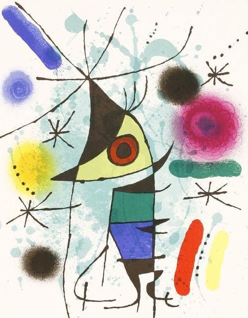 Joan Miró, 'Le Chanteur (Mourlot 867)', 1972, Sworders