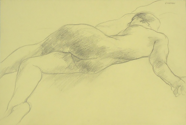 , 'Nude Figure on Bed,' ca. 1964, Cerulean Arts