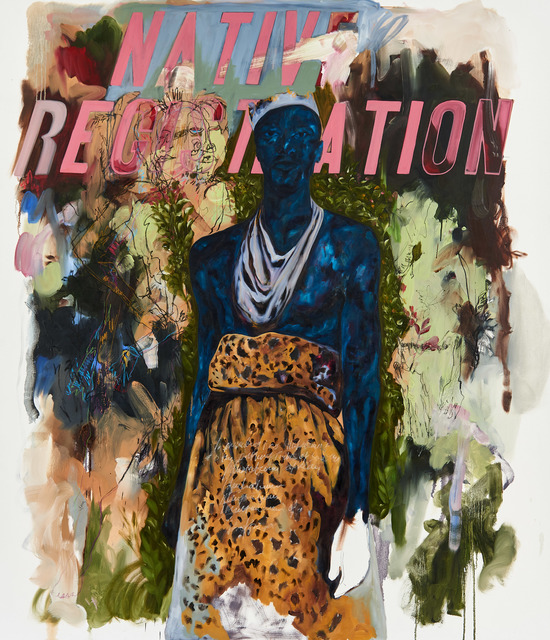 , 'Native Registration II,' 2017, Goodman Gallery