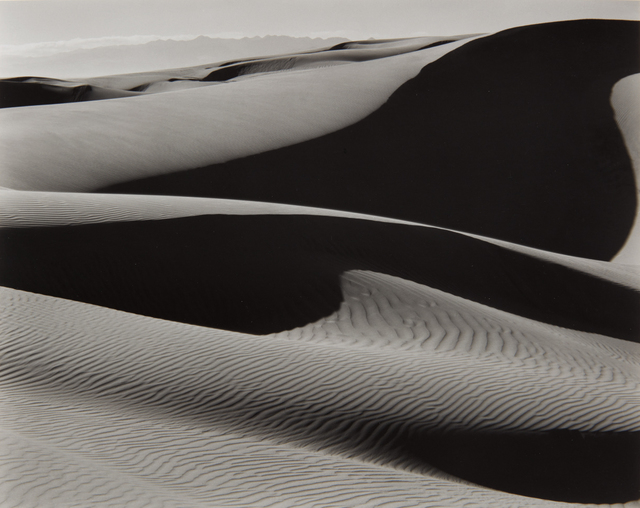 Edward Weston, 'Dunes, Oceano', 1936-printed later by Cole Weston, Phillips