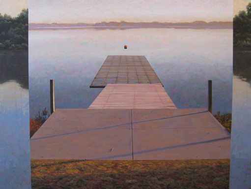 , 'Sculler's Launch 2,' , Greg Thompson Fine Art