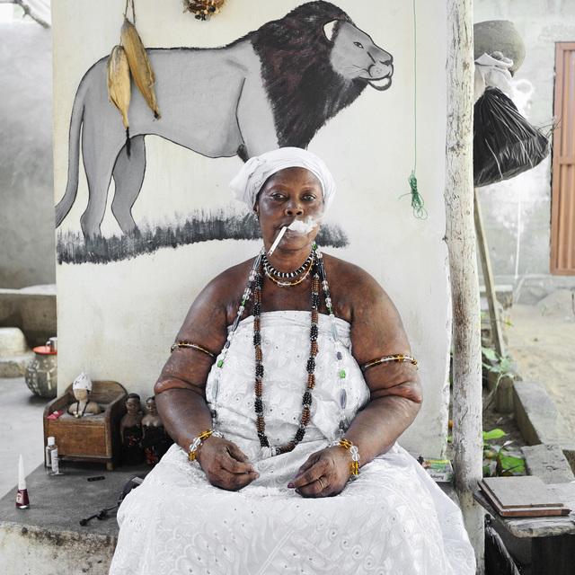 , 'Idelphonse Adogbagbe, Mami Tchamba Priestess,' 2011, L'agence à Paris