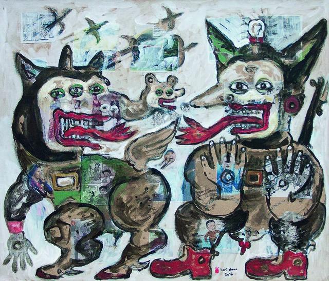 , 'The Negotiation of Peace,' 2016, Mizuma Art Gallery