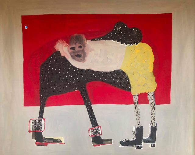 Amadou Sanogo, 'Le combattant et le Dévoreur', 2018, Retro Africa