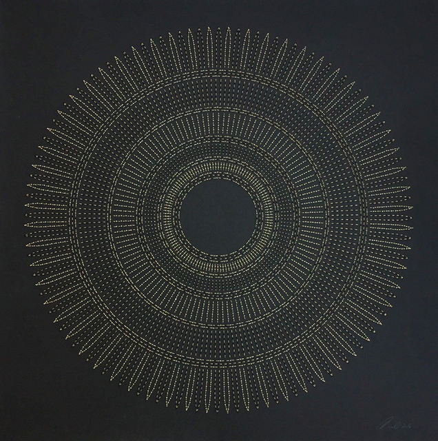 , 'CIRCLE THE KAABA (TAN),' 2016, Aicon Gallery