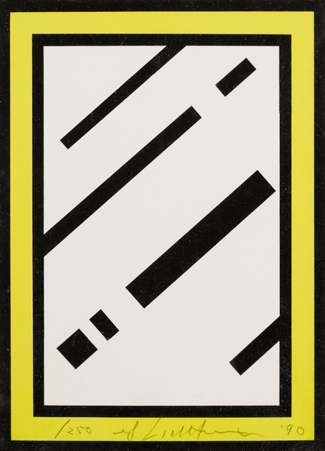 Roy Lichtenstein, 'Mirror', 1990, Print, Screenprint in colours, on white 4-ply museum board, RAW Editions