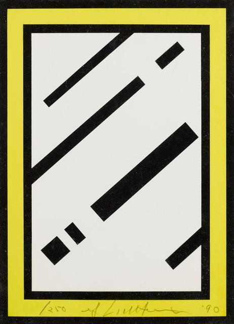 Roy Lichtenstein, 'Mirror', 1990, RAW Editions