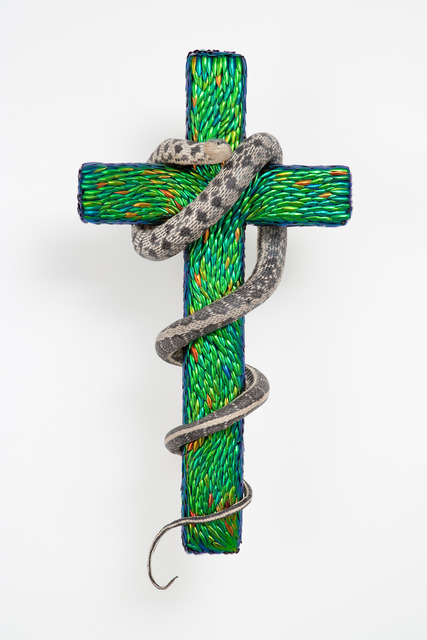 , 'Cross With Snake,' 2012, Mario Mauroner Contemporary Art Salzburg-Vienna
