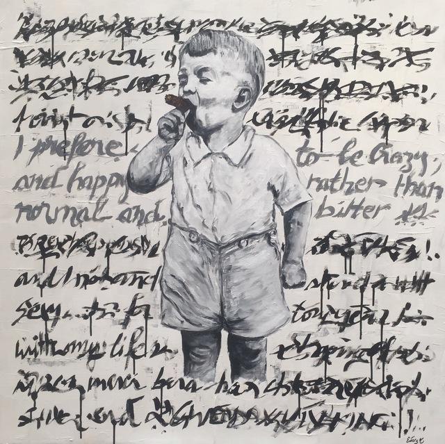 , 'I Prefer To Be Crazy,' 2017, Eden Fine Art