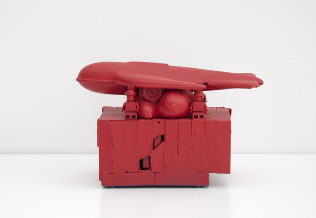 , 'Crazy is the new RED #3,' 2017, ONE MONEV Gallery