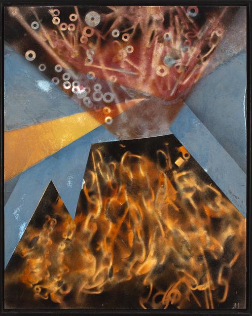 , 'Eruptions,' 2018, Blue Rain Gallery