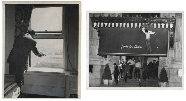 , 'TQ 25/26: Congress Hotel Suicide Jump/Jon Ward Suicide,' 1939/1949, Moss Bureau