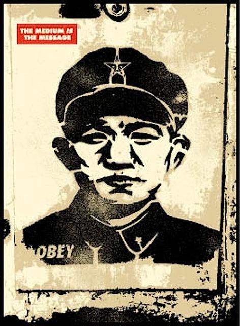 Shepard Fairey (OBEY), 'Chinese Stencil', 2001, Gregg Shienbaum Fine Art