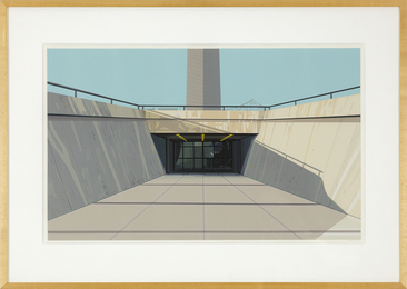 Richard Estes, 'Arch, St. Louis,' 1972, Heather James Fine Art: Curator's Choice