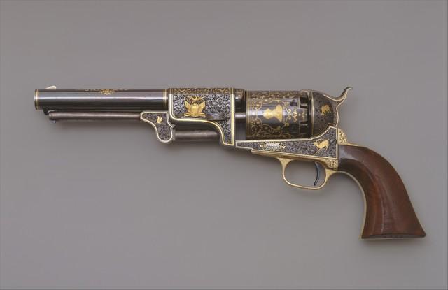 Samuel Colt | Colt Third Model Dragoon Percussion Revolver