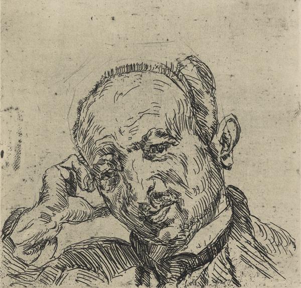 , 'Dr. Fritz Glaser,' 1921, Institut Mathildenhöhe Darmstadt