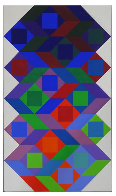 , 'Tridim X,' 1969, Galeria Freites