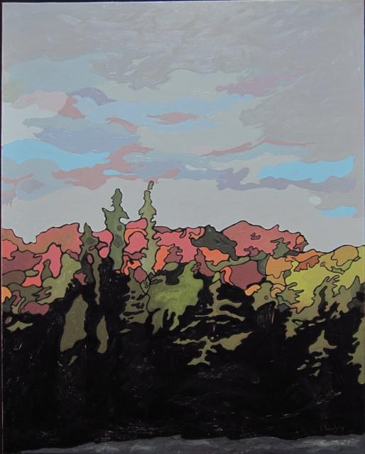 , 'October, Algonquin Park,' , Maison Depoivre